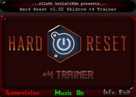 hardresettrainer Hard Reset (Multiversion) +4 Trainer