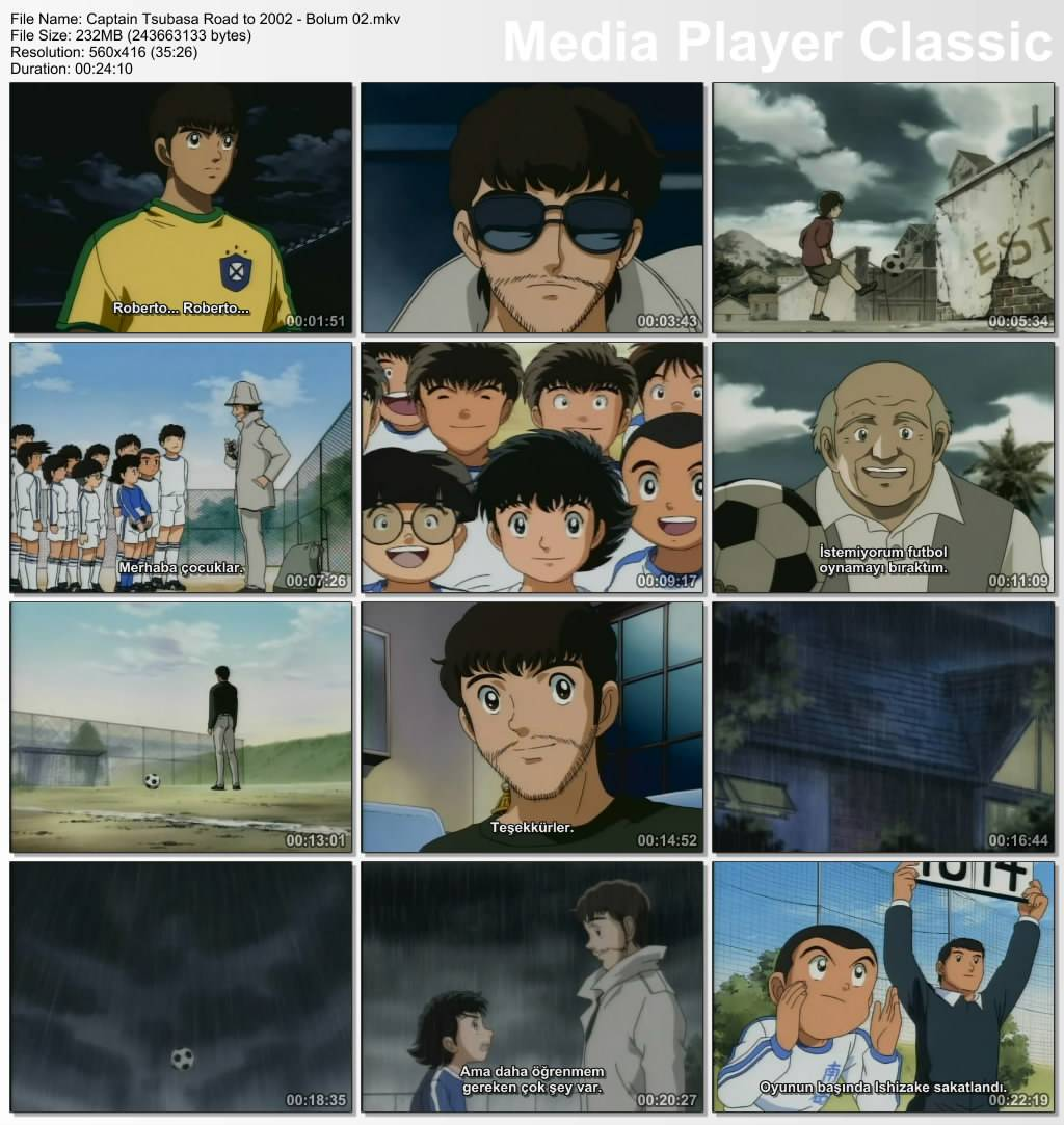 Kaptan Tsubasa Hedef 2002 - Tm Blmler DVDRip - Trke Altyazl Tek Link indir