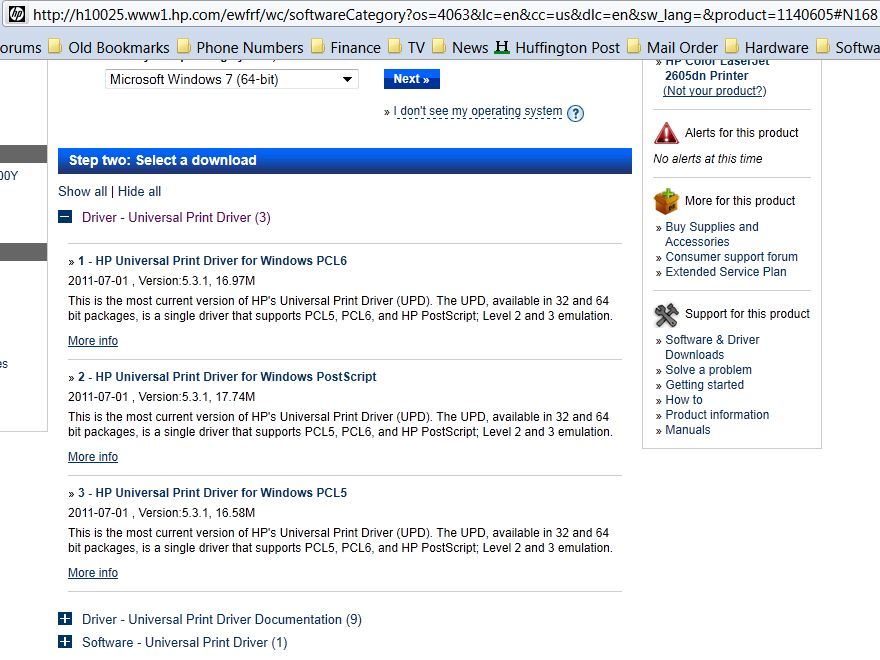 HP Universal Print Driver for Windows 64-bit PCL 6 ...