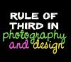 rule of thirds in design and photography