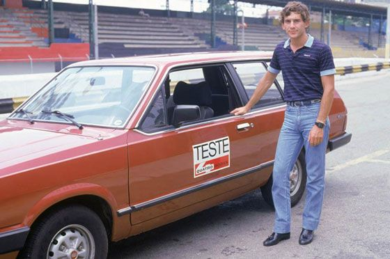 Ayrton Senna Teste Quatro Rodas Ford Belina