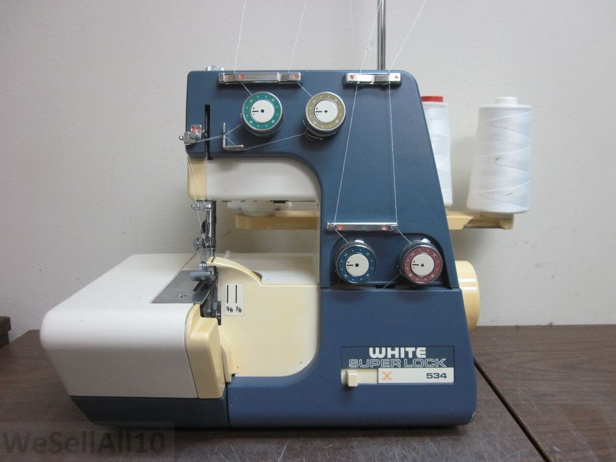 how to thread a white sewing machine