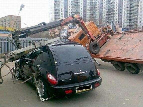 93074821 - Accidentes bizarros de coches