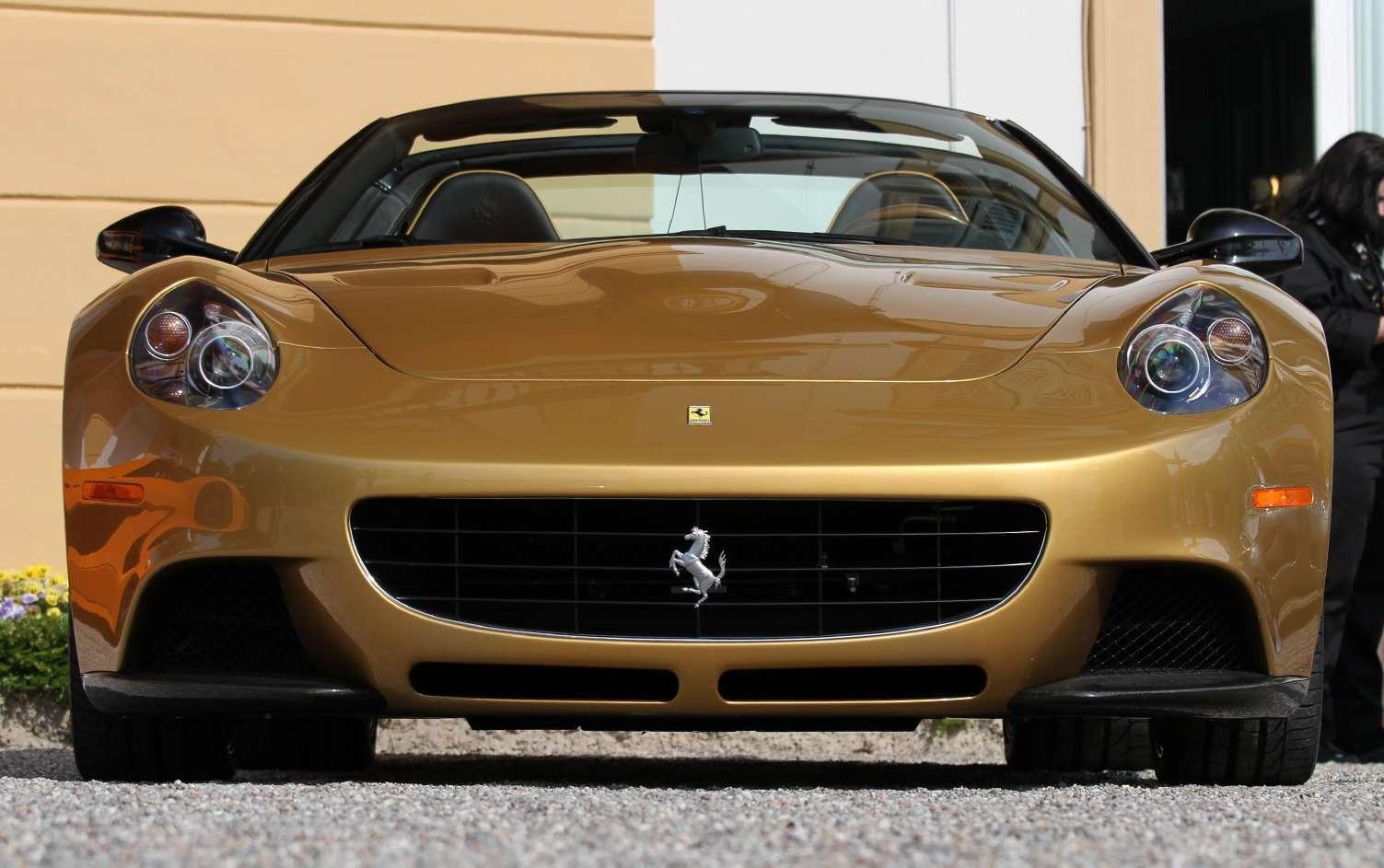Car Shows 2014 Ferrari P540 Superfast Aperta