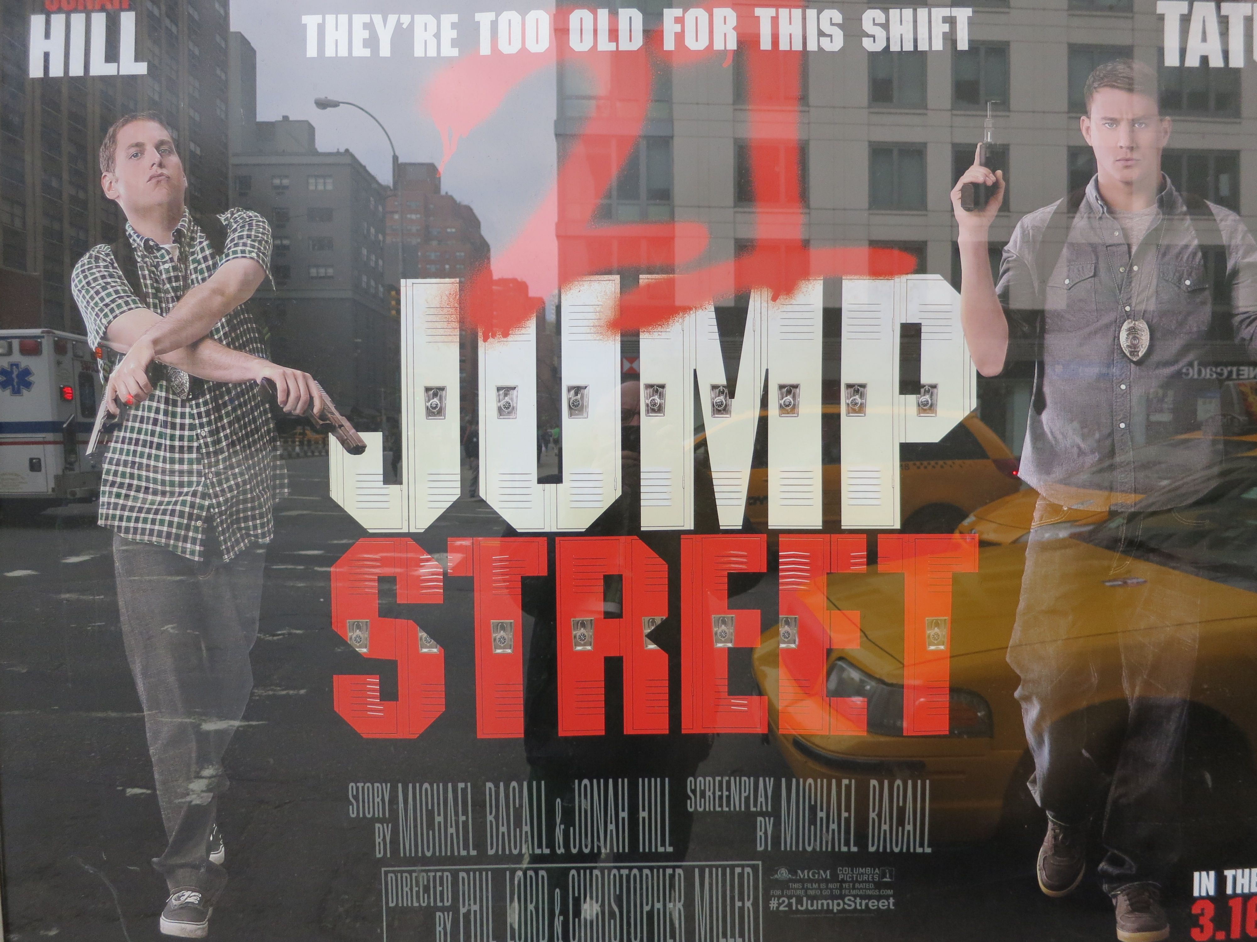 Chris Knipp View Topic Phil Lord Chris Miller 21 Jump Street 2012